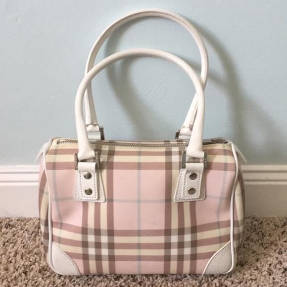 be9df3268a99 Burberry Handbags - BURBERRY pink nova check handbag